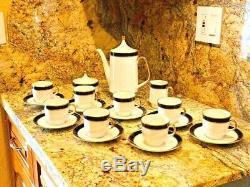 Vintage Café Set Par Echt Cobalt Bavière