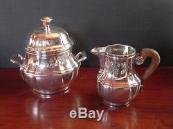 Vintage Christofle Silverplate Thé / Café Set France