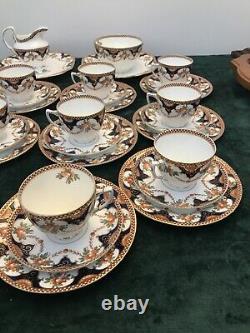 Vintage Dome Wetley China Longton Tea Coffee Set, 40 Pcs