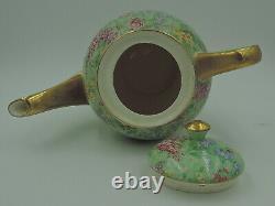 Vintage Empire Chintz Lilac Time Théière / Pot De Café Tea Set Sugar Bowl Creamer