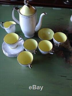 Vintage Étourdir Le Set Café Royal Albert Bone China