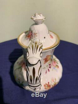 Vintage Hammersley Howard Sprays Café Set Pot, Pot À Lait, Sucrier + Tasses
