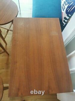 Vintage MID Century Modern Poul Hundevad 5 Tables D'appoint Nesting Coffee Set Teak