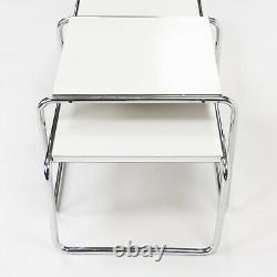 Vintage Marcel Breuer Des Années 1960 Pour Gavina Spa Laccio Side / End & Coffee Table Set