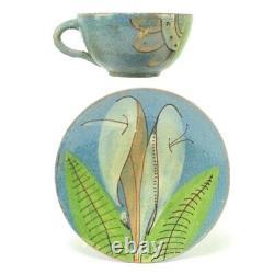 Vintage Mexicain Poterie Café Tea Set Art Deco
