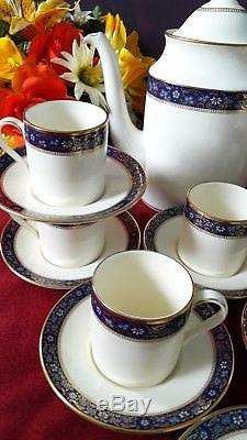 Vintage Minton Edinburgh Café Pour Huit Sets Vgc