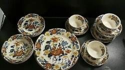 Vintage Myott Meakin Dynasty Collection Kismet Dinner And Coffee Set-20 Pièces