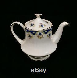 Vintage Paragon China Tea / Coffee Set Pour 6 Personnes / Bleu Stand Boniston & Cake