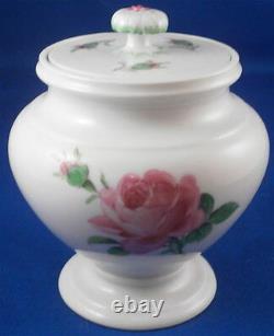Vintage Porcelaine De Meissen Rose Chocolat Rose / Café Service Set Porzellan