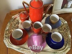 Vintage Porcelaine Expresso Café