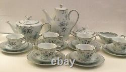Vintage Rare C. 1953-1964 Japonais Noritake Chine Thé Et Café Set-motif Lorene