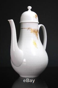 Vintage Rosenthal Allemagne Porcelaine Fine 10pc Café Motif Rose Ensemble Classique