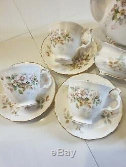 Vintage Royal Albert Haworth Coffee Set