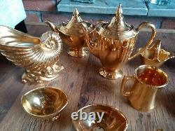 Vintage Royale Winton Grimwades Or Thé / Set Café. Collection De 28 Articles