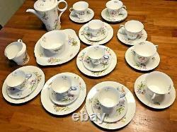 Vintage Shelley Tea / Coffee Set 29 Pièces