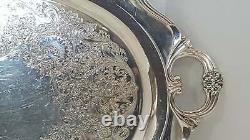 Vintage Silverplate Eternally Yours Serving Set Tray, Cafetières, Creamer Et S