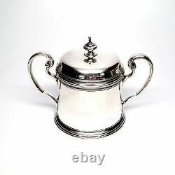 Vintage Tiffany & Co Sterling Silver 3 Piece Coffee Set, Avec Monogram #6271