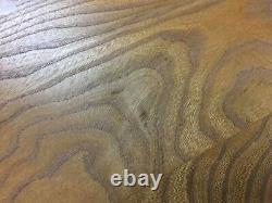Vtg Set Of MID Century Ercol Pebble Solid Elm Tables Cafés Danois Astro Danois