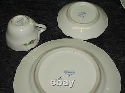 @'y' Set Of 18pc Meissen Vintage Coffee Tea Dinner Signed Porcelain'y' @'y' Set Of 18pc Meissen Vintage Coffee Tea Dinner Signed Porcelain'y' @'y' @